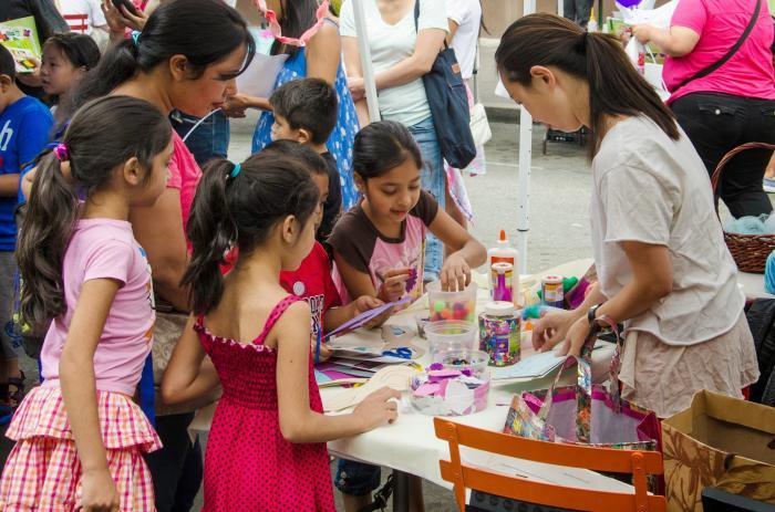 Kids Craft Fair a Huge Hit in Sunnyside