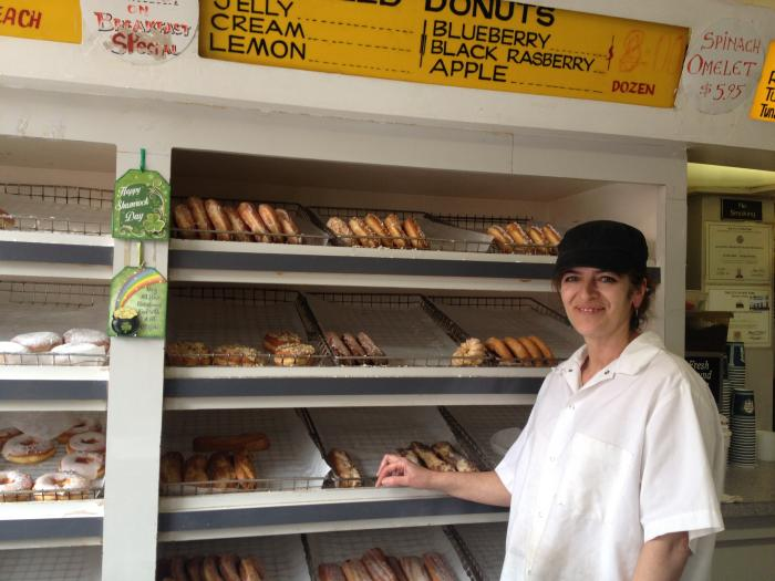 alpha donuts owner patty zorbas
