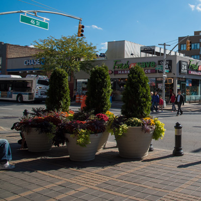 beautification streetscape initiatives sunnyside shines bid