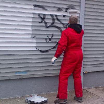 graffiti removal sunnyside shines bid